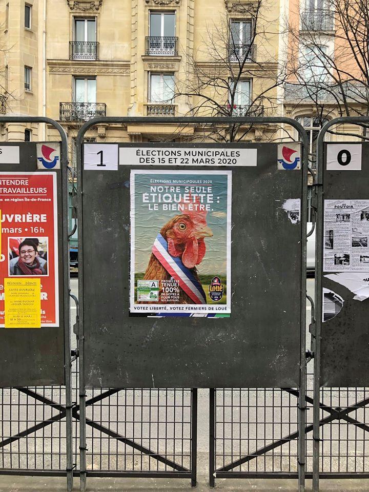 Affiche de campagne de Loué