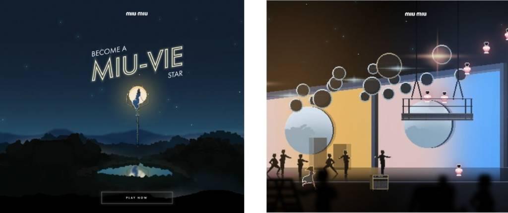 Capture d'écran du jeu Miu Miu