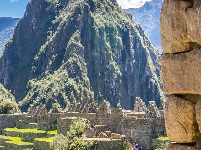 Une vue du Machu Picchu