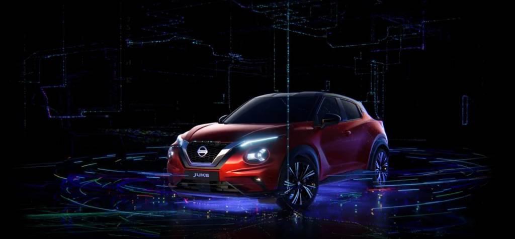 Hologramme Nissan Juke