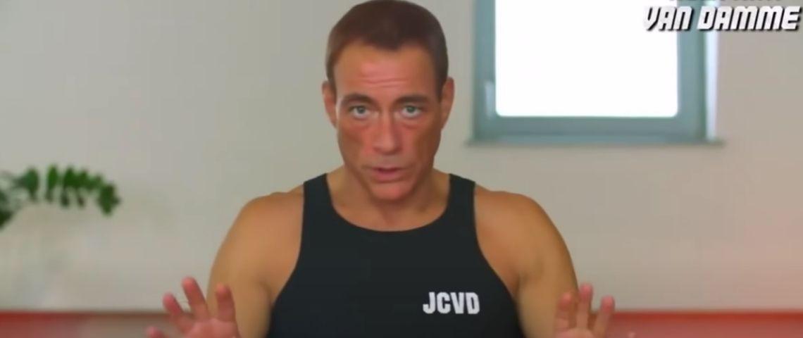 Jean Claude Van Damme de face