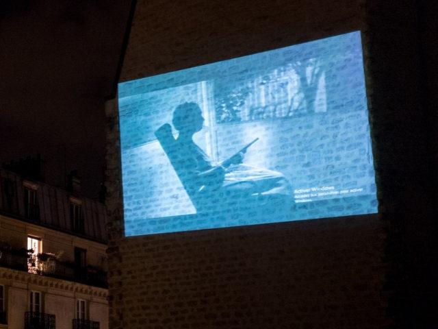 Un cinéma parisien projette des films en plein air