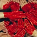 Coeur avec les doigts