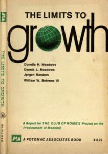 Couverture du rapport The Limits to growth du Club de Rome