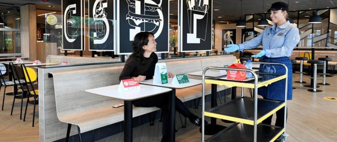 Un concept de McDonald's aux Pays-Bas