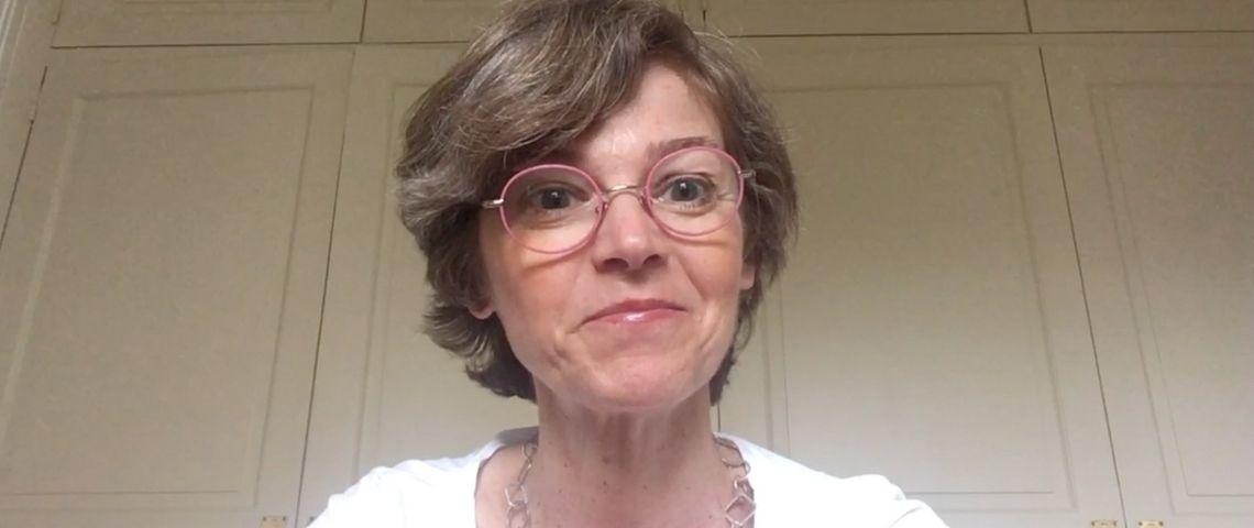Le regard d'Anne-Sophie Tournier, fondatrice et présidente de l'Hirondelle