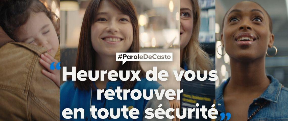 Castorama réadapte sa campagne #paroledecasto, au contexte actuel