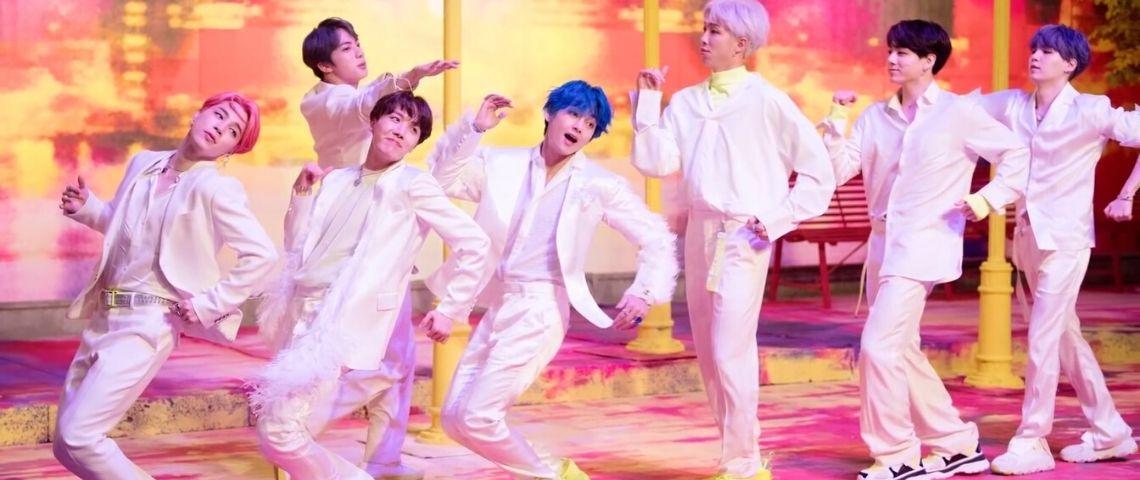 Le groupe de Kpop BTS