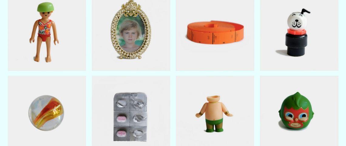 galerie d'objets