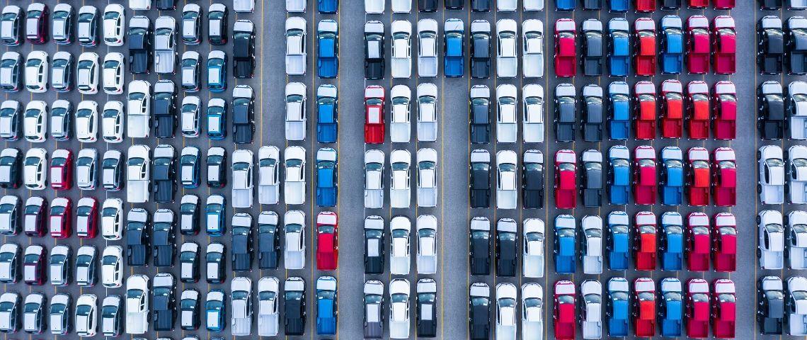 parking vue aerienne