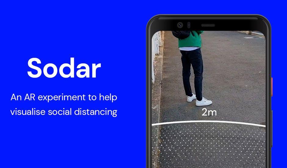 L'application Sodar de Google
