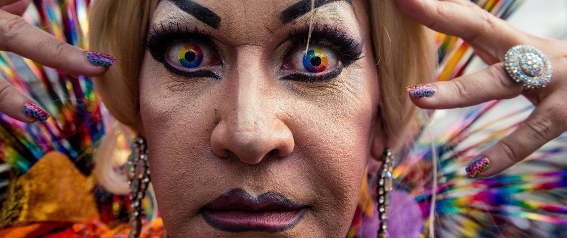 Un drag queen