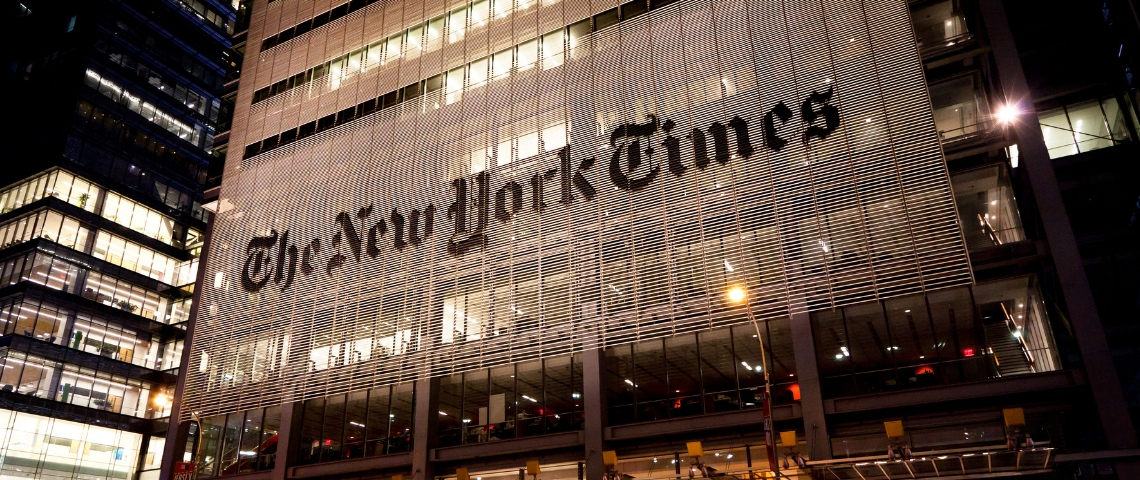 Le New York Time s'en va de chez Apple News