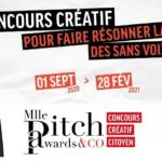 Affiche des Mlle Pitch Awards & Co