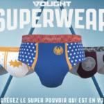 Collection de sous-vêtements Superwear
