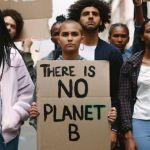 Des manifestants pour le climat
