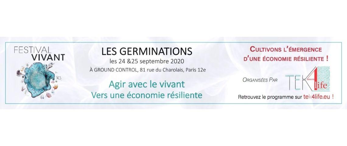 LES GERMINATIONS : « Agir avec le vivant pour une économie résiliente »