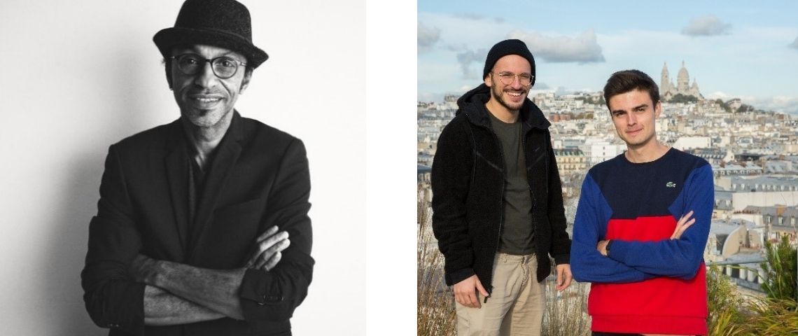 Manu Katche, Hugo Decrypte et Cyrus North