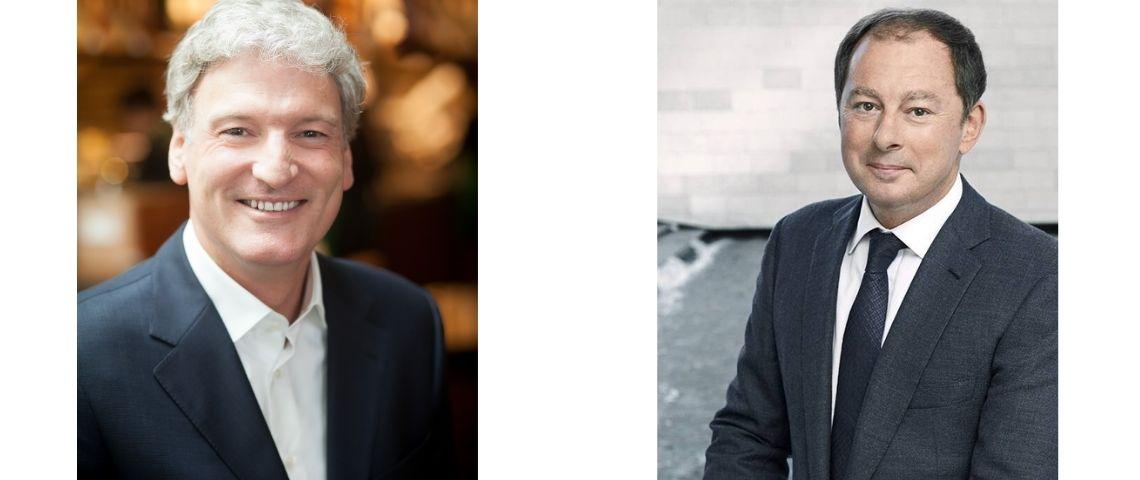 Martin Brok et Chris Lapuente