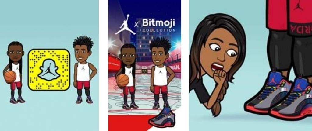 Bitmoji Air Jordan