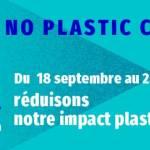 Affiche du Noplastic Challenge