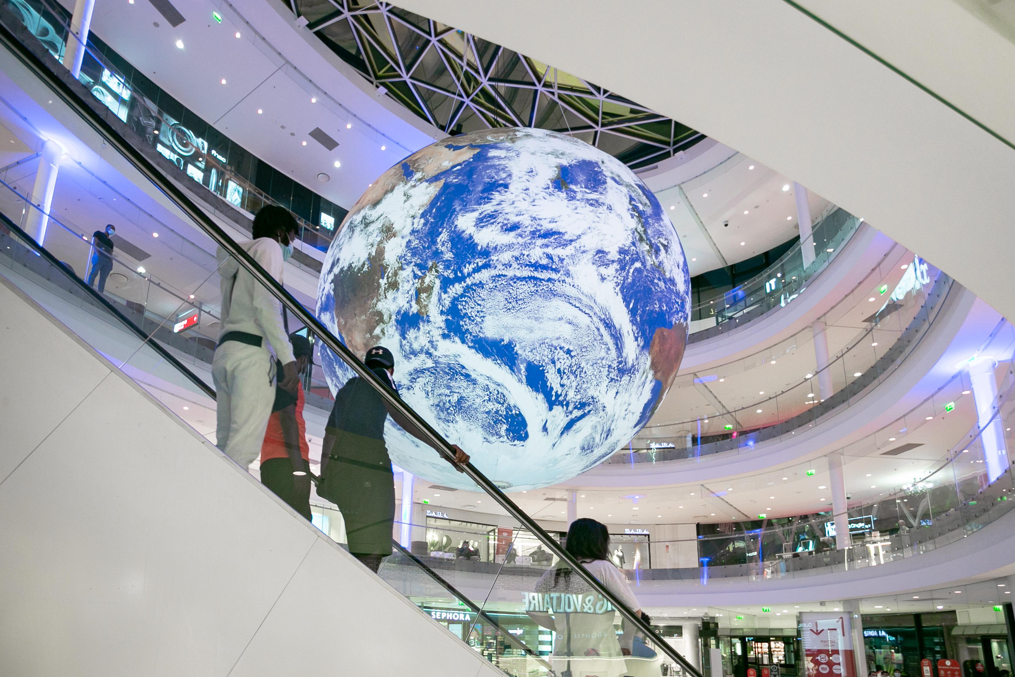 Planète de l'artiste Luke Jerram