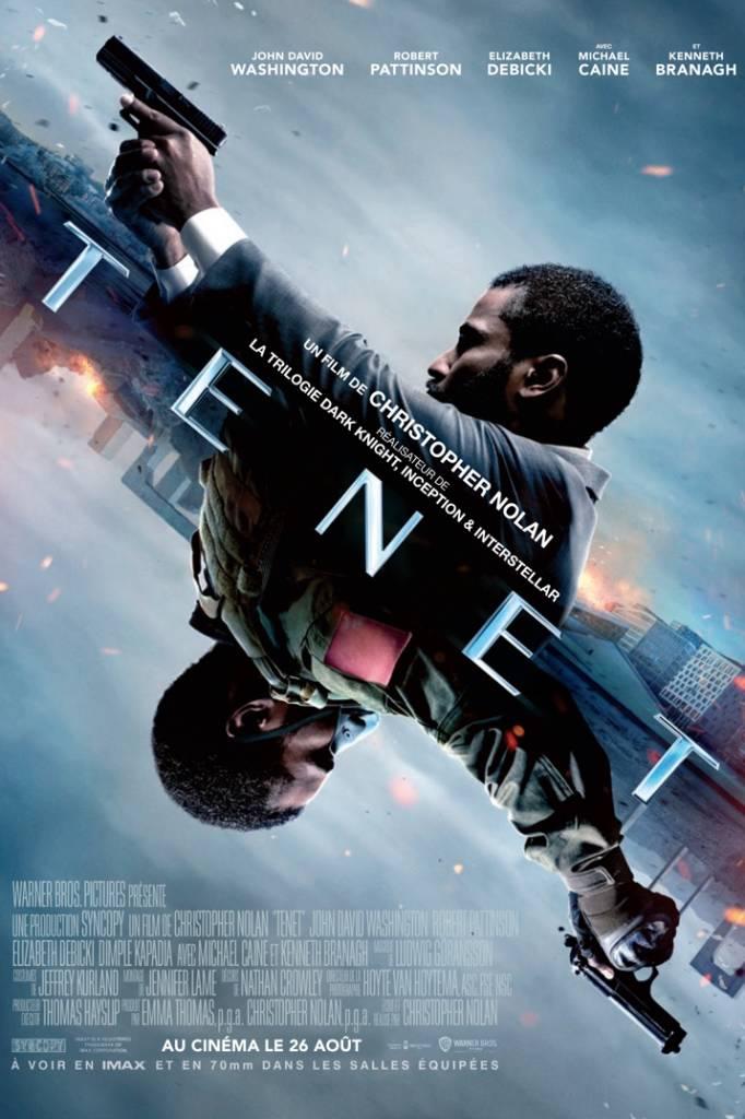Affiche du film Tenet de Christopher Nolan