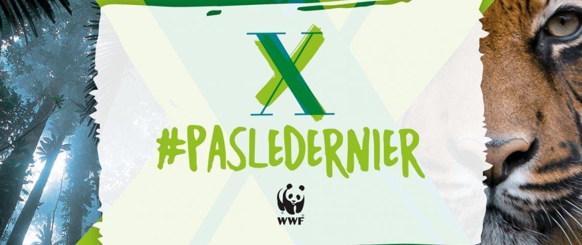 Logo de la campagne #pasledernier