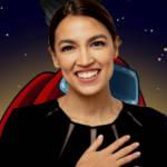 le portrait de la femme politique sur le fond de la pochette de jeu