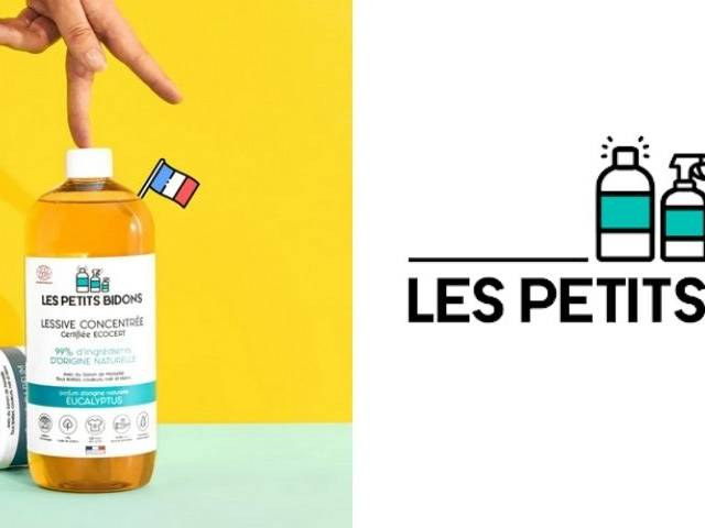 Produit et Logo Les Petits Bidons