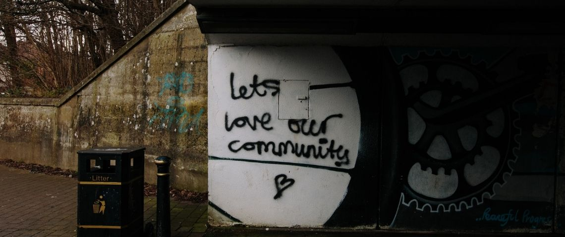 Grafiti : Lets love our community