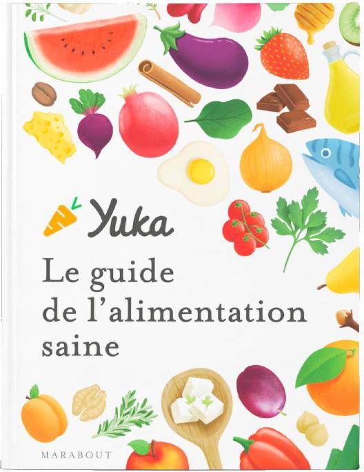 """Couverture du """"Guide de l'alimentation saine"""""""