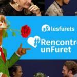 Campagne d'affichage lesfurets.com, les furets rencontre un furet