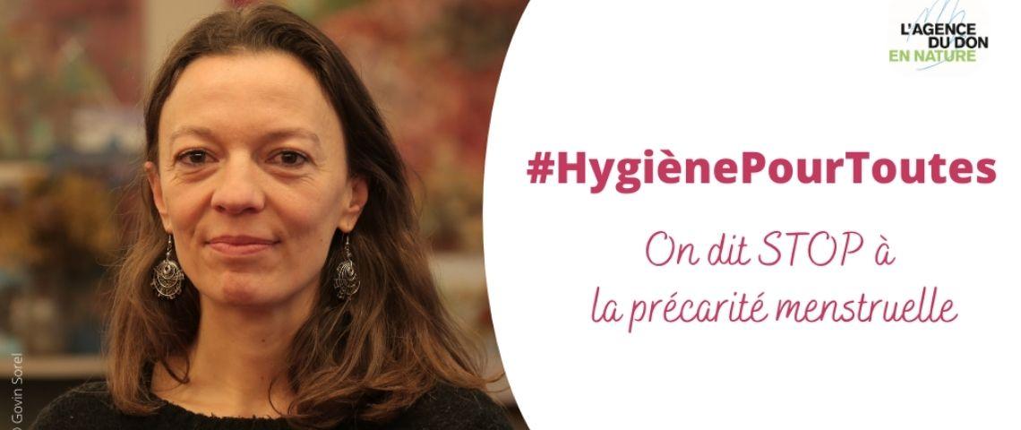 Femmes avec le hashtag HygiènePourToutes