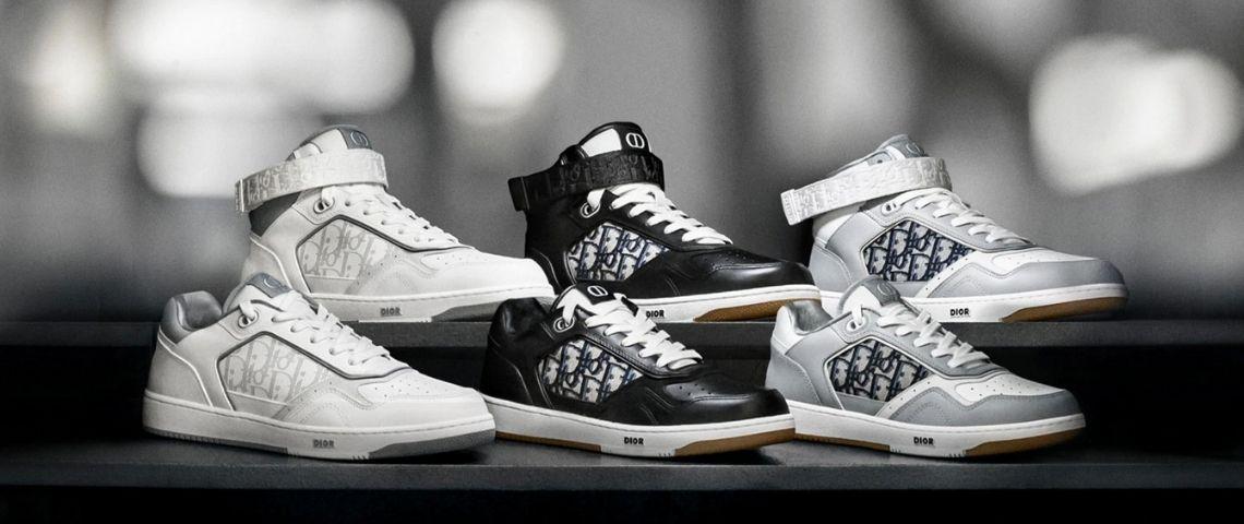 Nouvelle sneaker de Dior, la B27