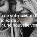 Affiche de la campagne l'opération « Share the warmth – Partageons un peu de chaleur »