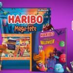 Paquets de bonbons Halloween d'Haribo