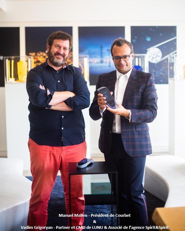 Manuel Mallen - Président de Courbet & Vadim Grigoryan - Partner et CMO de LUNU & Associé de l'agence Spirit&Spirit