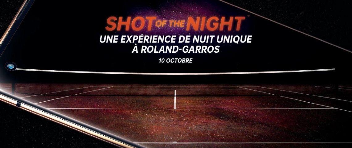 Affiche de l'évènement  - Shot of the night -