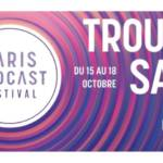 Affiche 3ème Edition du Paris Podcast Festival