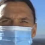Zlatan Ibrahimovic portant un masque