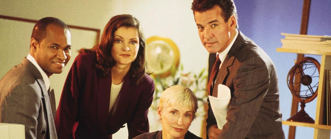 Photo d'équipe des années 90
