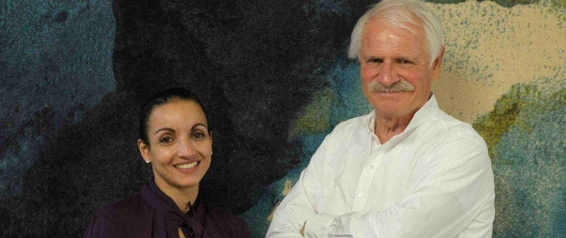 Sarah Ourahmoune et Yann Arthus-Bertrand
