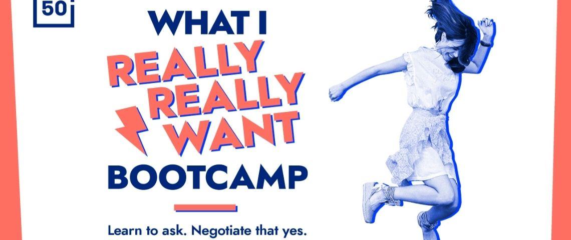 Affiche du Bootcamp 50inTech