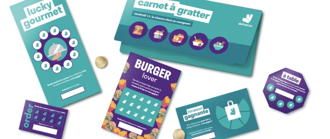 Tickets à gratter Deliveroo