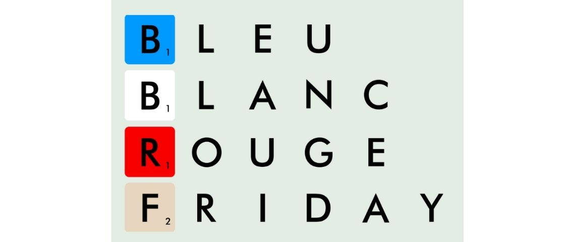 Logo Bleu Blanc Rouge Friday