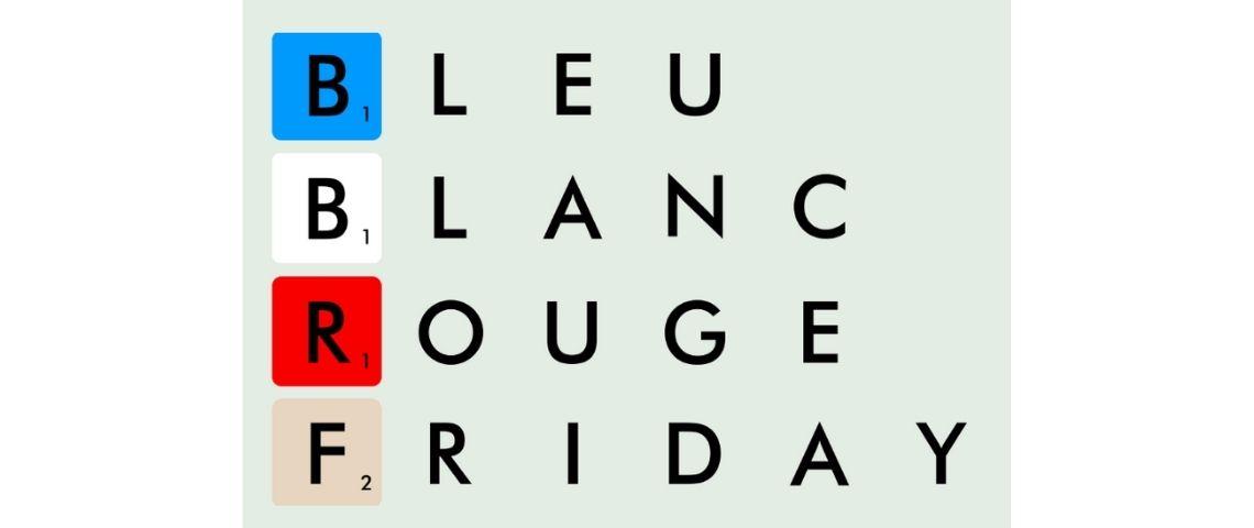 Logo Bleu Blanc Rouge Friday