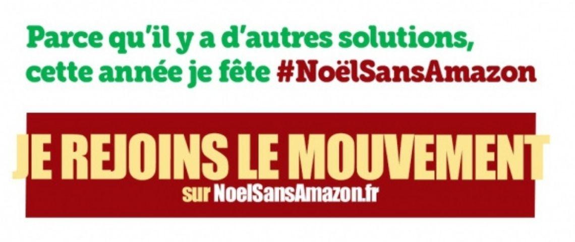 Flyer pour rejoindre le mouvement #NoëlSansAmazon