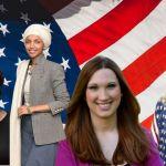 Alexandria Ocasio Cortez, Lauren Boebert, Ilhan Omar, Marjorie Taylor Greene, Ayanna Pressley et Sarah McBride