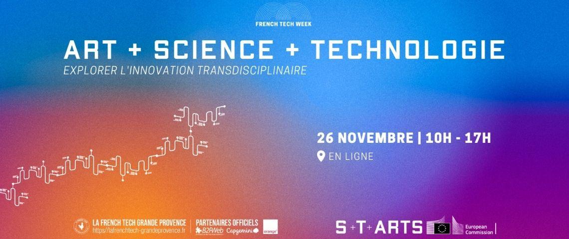 Affiche journée de l'innovation organisée par la French Tech